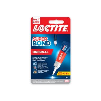 LOCTITE Super Bond Original Liim 4g - Домашняя химия - Charlot e-shop